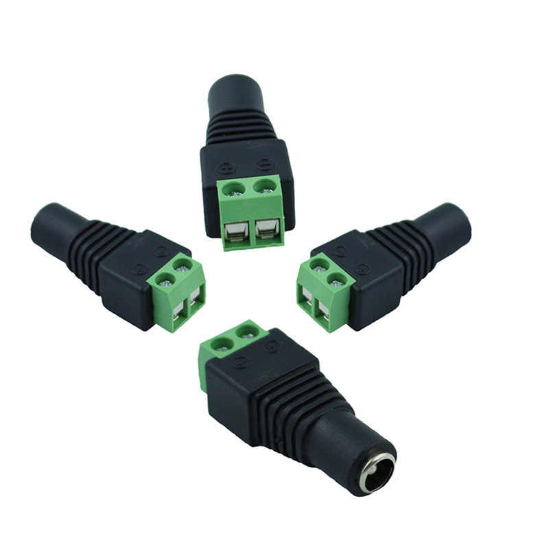 DC Power 1 Female to 2 3 4 5 6 8 Male Way Splitter Adapter Connector Plug Cable 5.5mm*2.1mm 12V For CCTV Camera LED Strip Light
