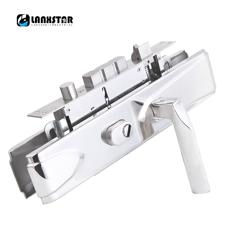 Mechanical Anti-theft Door Locks 304Stainless Steel Keyed Boxlock Outdoor Anti-theft Door Lock Handle Lock