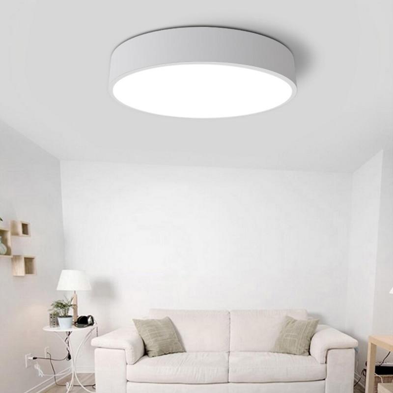 Moderne führte deckenleuchten fernbedienung wohnzimmer lampe ...