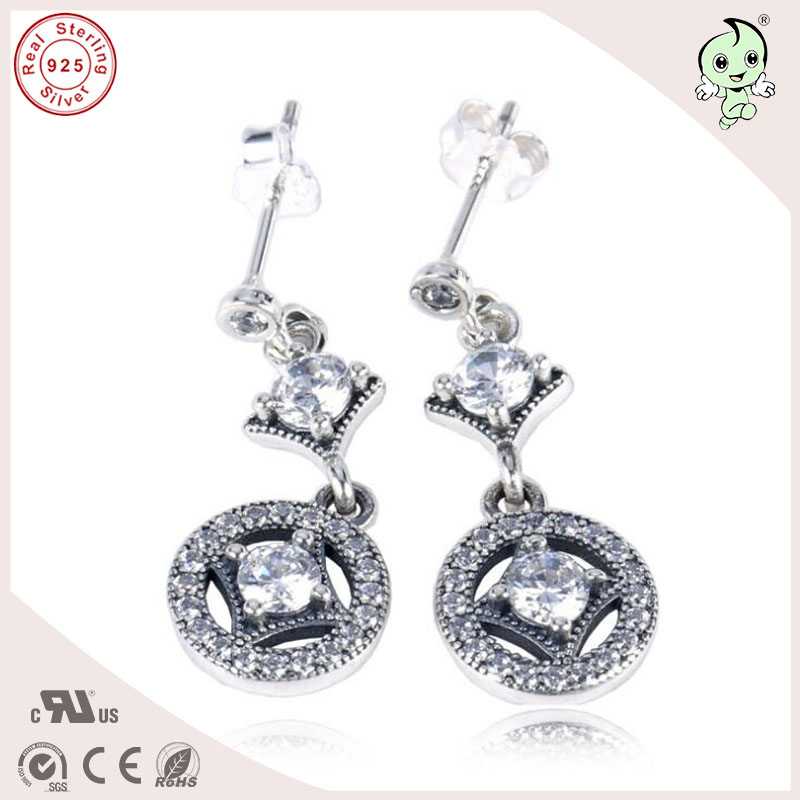 High Quality Beautiful And Noble Shinning Cz Paving 925 Sterling