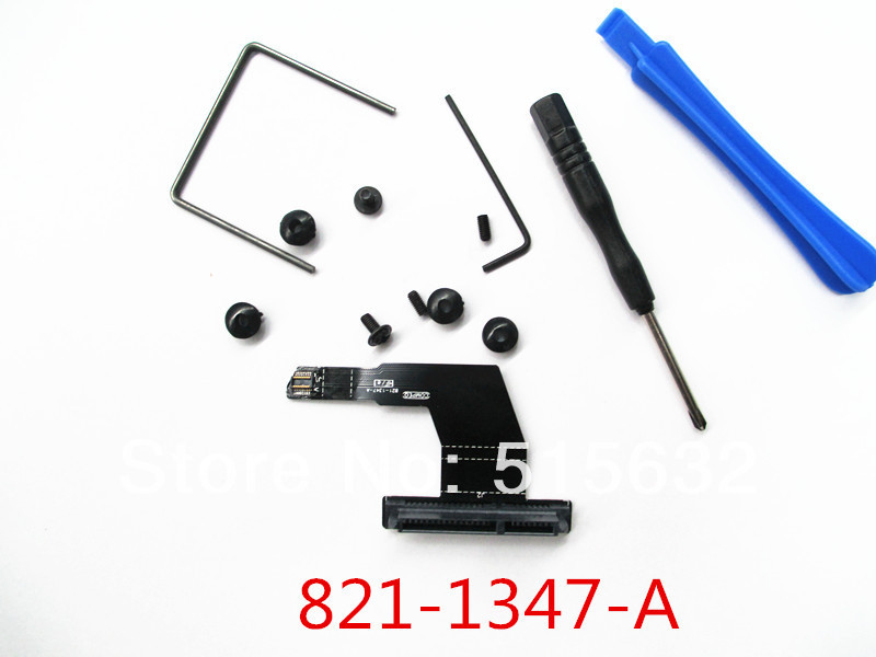 For Mac Mini A1347 Second dual hard drive upgrade kit SSD cable brand new for a1311 imac inter 21 5 mid 2011 dual hard drive cable kit 593 1296