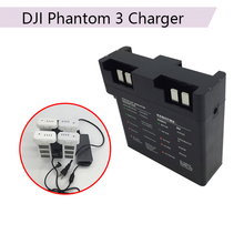 Intelligent Parallel Battery Quick Charging Hub 17.5V for DJI Phantom 3 3A 3P 3S SE Multi Battery Charger Adapter Drone Camera 3 ports multi battery speed balance charger adapter for parrot bebop drone 3 0