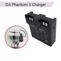 Intelligent Parallel Battery Quick Charging Hub 17.5V for DJI Phantom 3 3A 3P 3S SE Multi Battery Charger Adapter Drone Camera