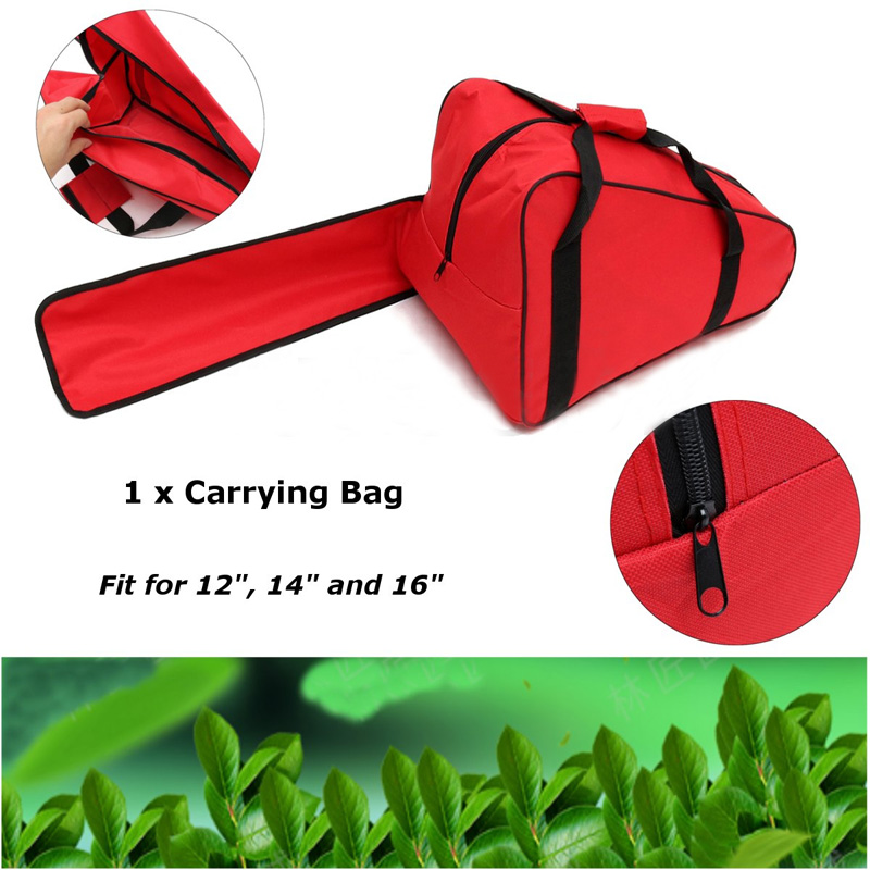 12/14/16'' Chainsaw Oxford Fabric Chain Saw Carrying Bag Case Protective Holdall Holder Box For Gaden  Storage Tool Bag