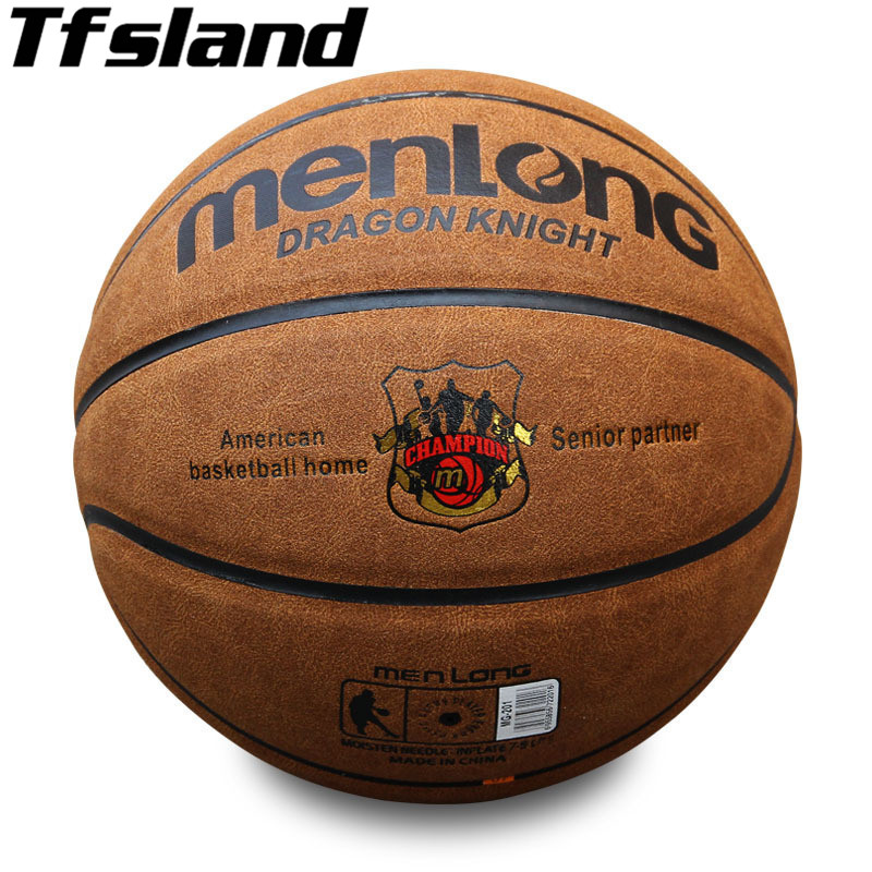 Size 7 Basketball Suede Genuine Leather Outdoor Anti Slip Sports Basketball Ball Indoor Training Gym Anti Friction Basketball