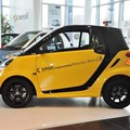 Accesorios del coche Inteligente Diseñado Por Mercedes Benz Puerta Lateral Etiqueta Y Etiqueta Cuerpo Entero Decoración Para Smart Fortwo