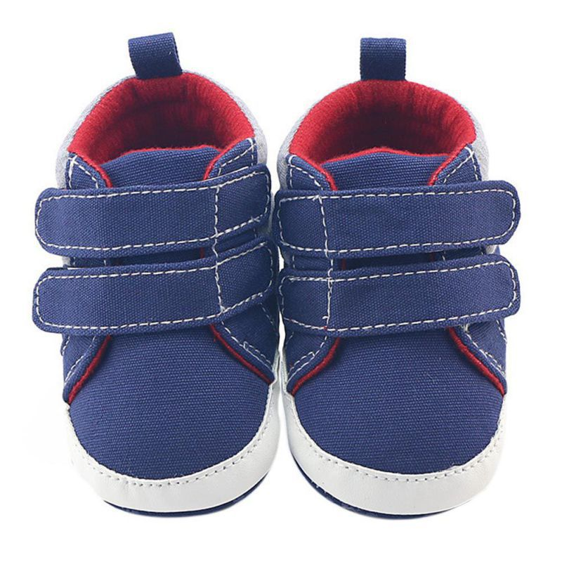 Newborn Infant Boot Baby Shoes Boys Navy Blue Hook&Loop Shoes Baby Girl Toddler First Walkers Autumn Winter