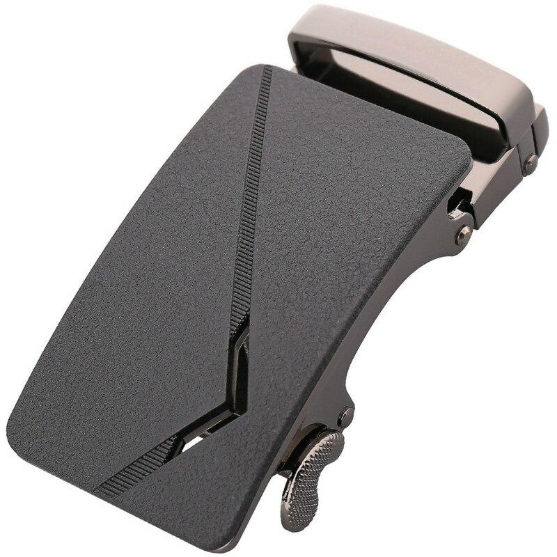 Fashion Men's Business Alloy Automatic Buckle Unique Men Plaque Belt Buckles 3.5cm Ratchet Men Apparel Accessories LY136-21531