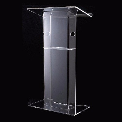 Free Shipping clean delicate acrylic pulpit/ modern design acrylic / crystal pulpit of the church free shipping fashionable strict application pulpit of the church acrylic technology