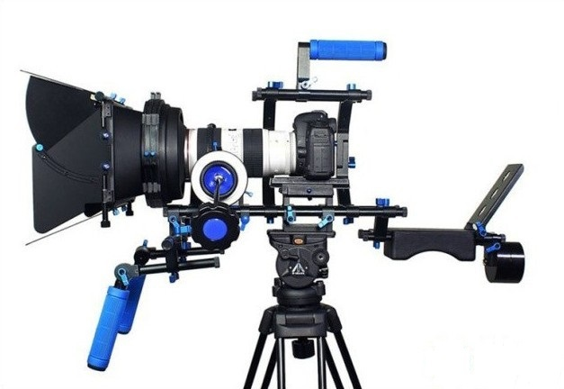 Image result for shoulder rig with matte box