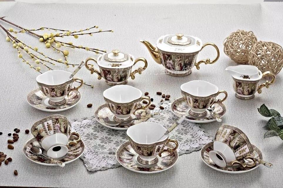 guci english tea set uropean tea set english porcelain 15