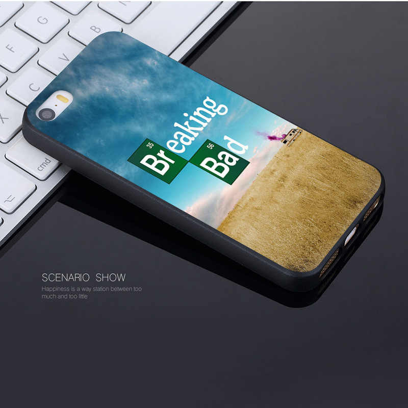 MaiYaCa Breaking Bad Wallpaper Coque Shell Phone Case For Apple IPhone 8 7 .