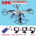 X8 X8G RC Drone SYMA SEM Câmera ou SEM Câmera Remoto 6-Axis RC Helicóptero Quadcopter Pode Caber Gopro ou Câmera VS Syma Xiaoyi X8HG