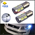 2pcs High Power 11W HID White BAX9S H6W CRE'E-SMD LED Replacement Bulbs For Car Parking Light,Backup Reversing Brake Lights Bulb