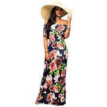 Frauen Tunika Lange Kleid Sleevelesss Kleid Weg Floral Maxi kleid Sexy Sommerkleid Abendgesellschaft bodycon kleid auf den boden