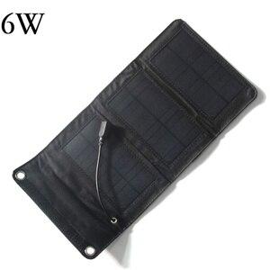 Image 3 - BUHESHUI 10 W 5 V חיצוני פנל סולארי מטען/iphone/טלפון נייד/כוח בנק 8 W 6 W שמש סוללה מטען משלוח חינם