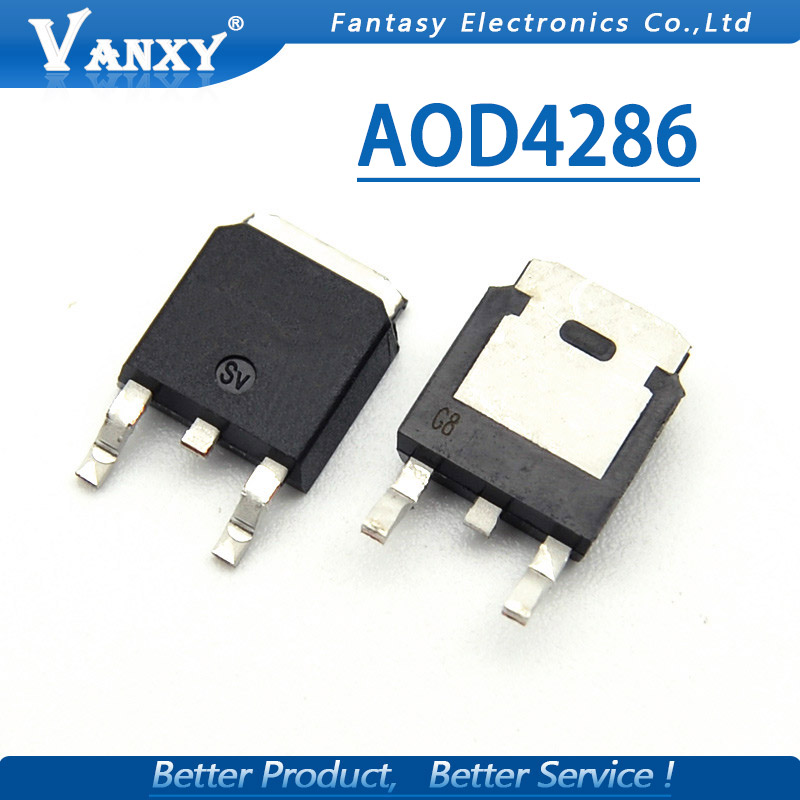 10pcs AOD4286 TO-252 D4286 TO252 New Original