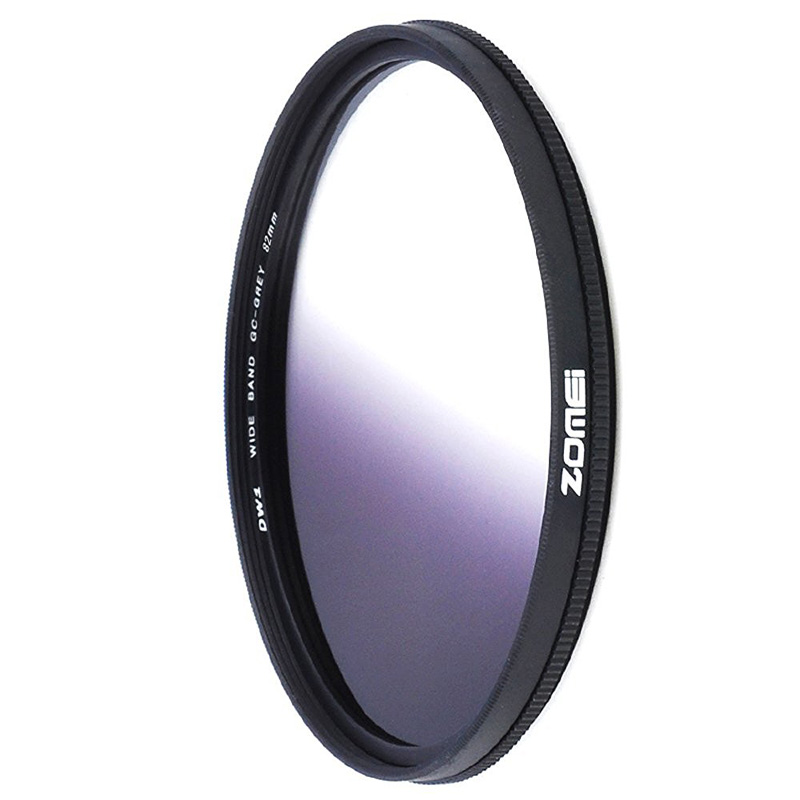 ZOMEi Ultra Slim GC- Gray Orange Blue Red 40.5mm 49mm 52mm 55mm 58mm 62mm 67mm 72mm 77mm Gradient Gray Neutral Density Filter