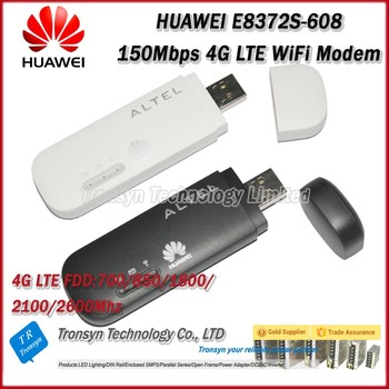 Wholesale Original Unlock 150Mbps HUAWEI E8372 CAT5 4G USB WiFi Wingle Support LTE FDD B1 B3 B5 B7 B28