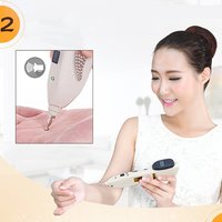 LCD Electronic Acupuncture Massager Meridian Pen Health Care Monitor Electric Meridians Laser Acupuncture Magnet Therapy
