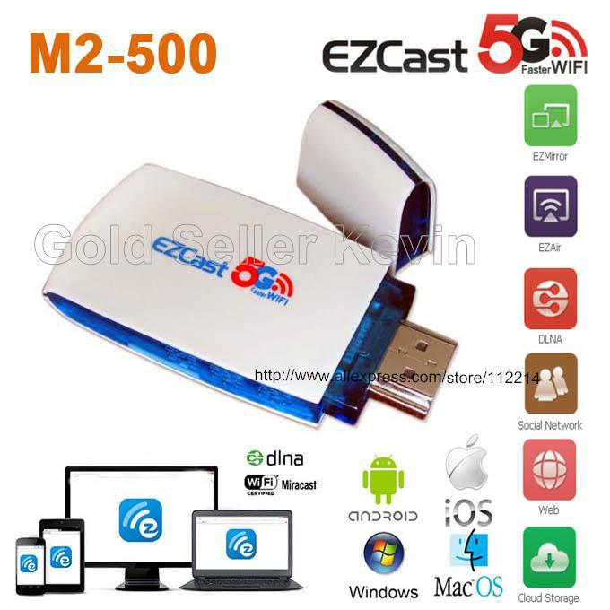 EzCast M2 500 TV Dongle Airplay Miracast DLNA 2 4G/5G Dual