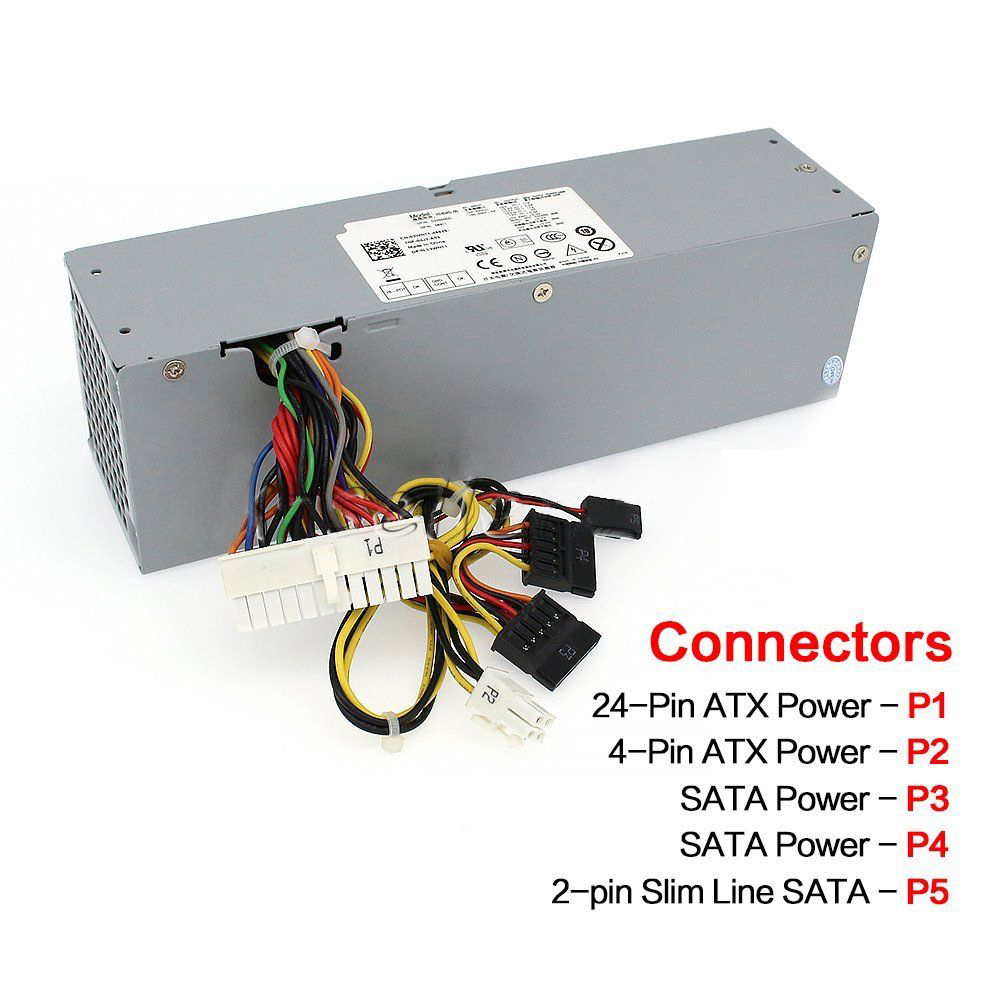 Image 5 - NEW For Dell Optiplex H240ES 00 H240AS 00 AC240ES 00 AC240AS 00 L240AS Power Supply-in PC Power Supplies from Computer & Office