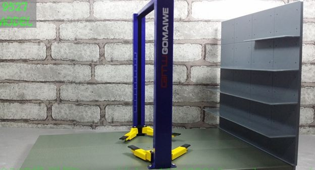 1 18 1 24 elevator scene model alloy model car repair lift toys