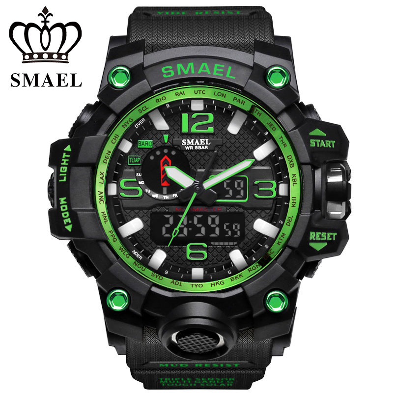 2017 SMAEL New Listing Fashion Watch Men Watch Waterproof Sport Military G Style S Shock Watches Men's Luxury Brand Relogio Masc new laptop keyboard for asus g74 g74sx 04gn562ksp00 1 okno l81sp001 backlit sp spain us layout