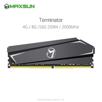 Original MAXSUN Terminator 4G / 8G / 16G 2400MHz DDR4 RAM Rapid Cooling Memory Module