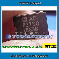 Free Shipping 1PCS Hot New Imported Genuine Original AD827SQ 883B Dual Op Amp Tao Feng S