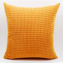 GGGGGO HOGAR grano de Maíz forma sólido cojín del sofá, cubierta de Navidad/hotel fundas de cojines, sofá throw pillow covers decorativo