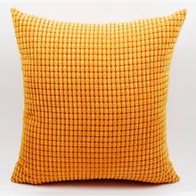 GGGGGO forma de grãos de Milho EM CASA sólida almofada do sofá, capa de Natal/hotel/home/carro/sofá/partido capa jogar travesseiro decorativo(China (Mainland))
