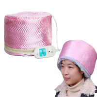 ผู้หญิงผมไฟฟ้าหน้ากากล้างทำความสะอาดน้ำมันอบหมวกความร้อน