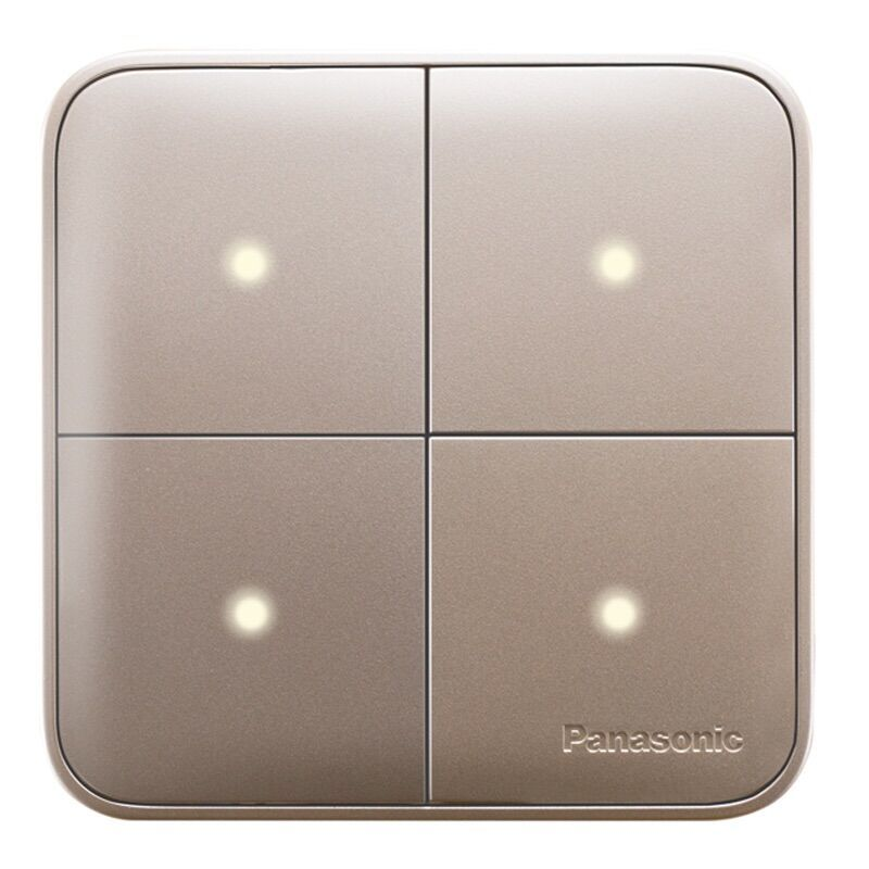Panasonic Light Switch Full Reset Structure Random Click On / Off Wall Light Switch with LED Indicator