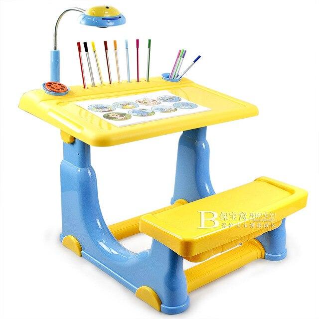 Mobilier de bureau enfant de maternelle bureau en plastique