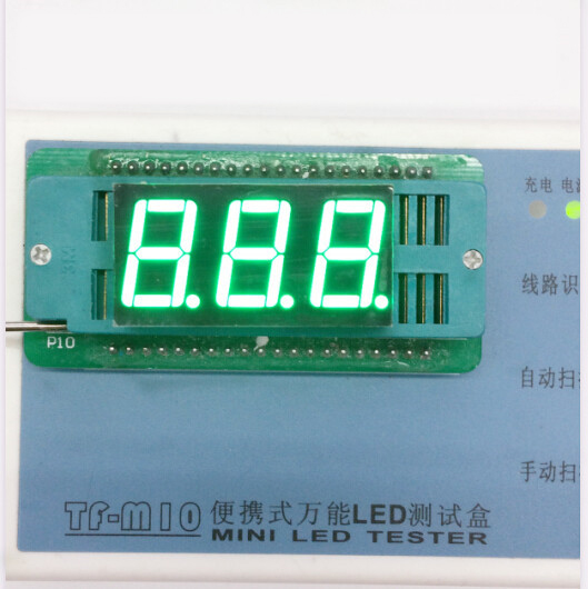 100pc Common Anode/Common Cathode 0.56 Inch Digital Tube 3 Bit Digital Tube 0.56inches Best  Emerald Digital Tube Green