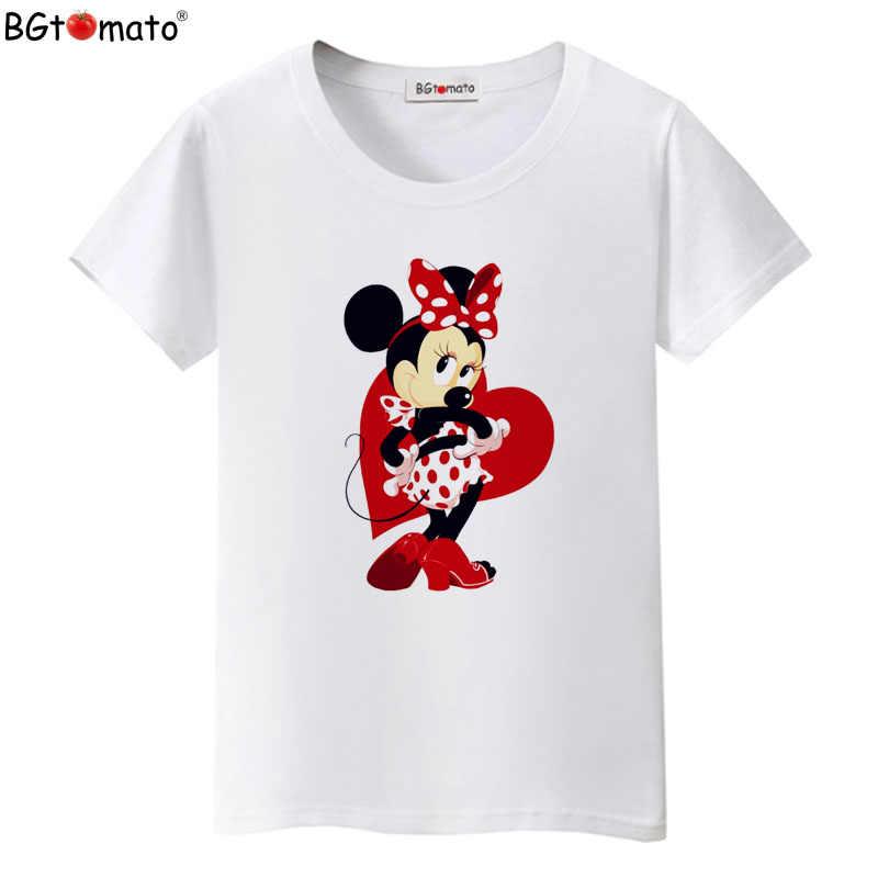 2fa5c058 BGtomato T shirt Super lovely cartoon Mickey tshirt hot sale cute cartoon  top tees Brand new