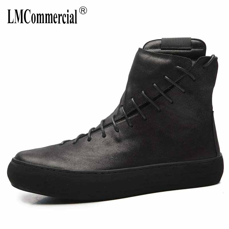 High Martin round men leather boots British winter Korean Retro Black or men shoes warm Martin boots breathable fashion boots genuine leather men shoes spring casual shoes 2016 autumn leather shoes breathable flat shoe lace up outdoor oxfords wholesale