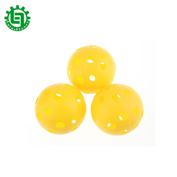 5Pcs Golf Ball Plastic Practice Balls Airflow Ball Wiffle Ball Golf Swing Trainer Aids image