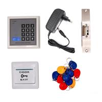 Proximity Card 125KHz RFID Card Password Entry System Door Gate Access Control system Kit