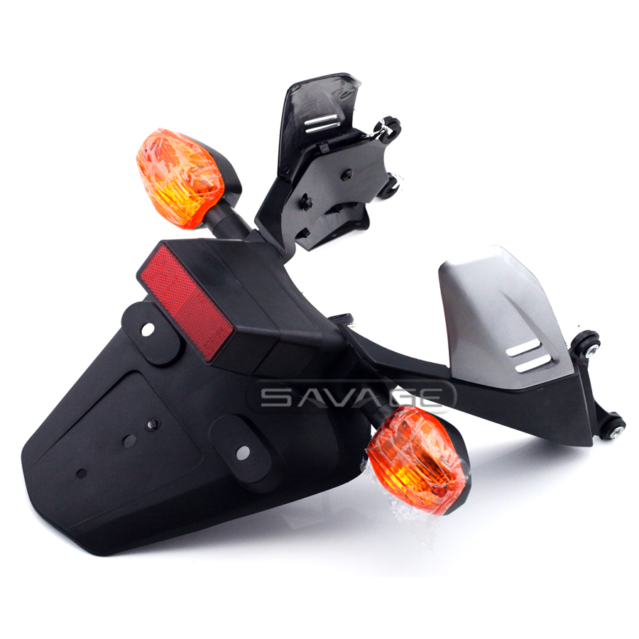 For HONDA CBR 1000RR CBR1000RR 2004-2005 Motorcycle Fender Eliminator Registration License Plate Holder Bracket with Turn Signal motorcycle fender eliminator led light tidy tail for honda cbr 600rr cbr600rr 2005 2006 cbr 1000rr cbr1000rr 2004 2005 2006 2007