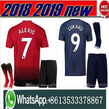 4238c3291 Optimum quality 2018 2019 Manchester United man utd adult men kit soccer  Jerseys camisetas shirt survetement