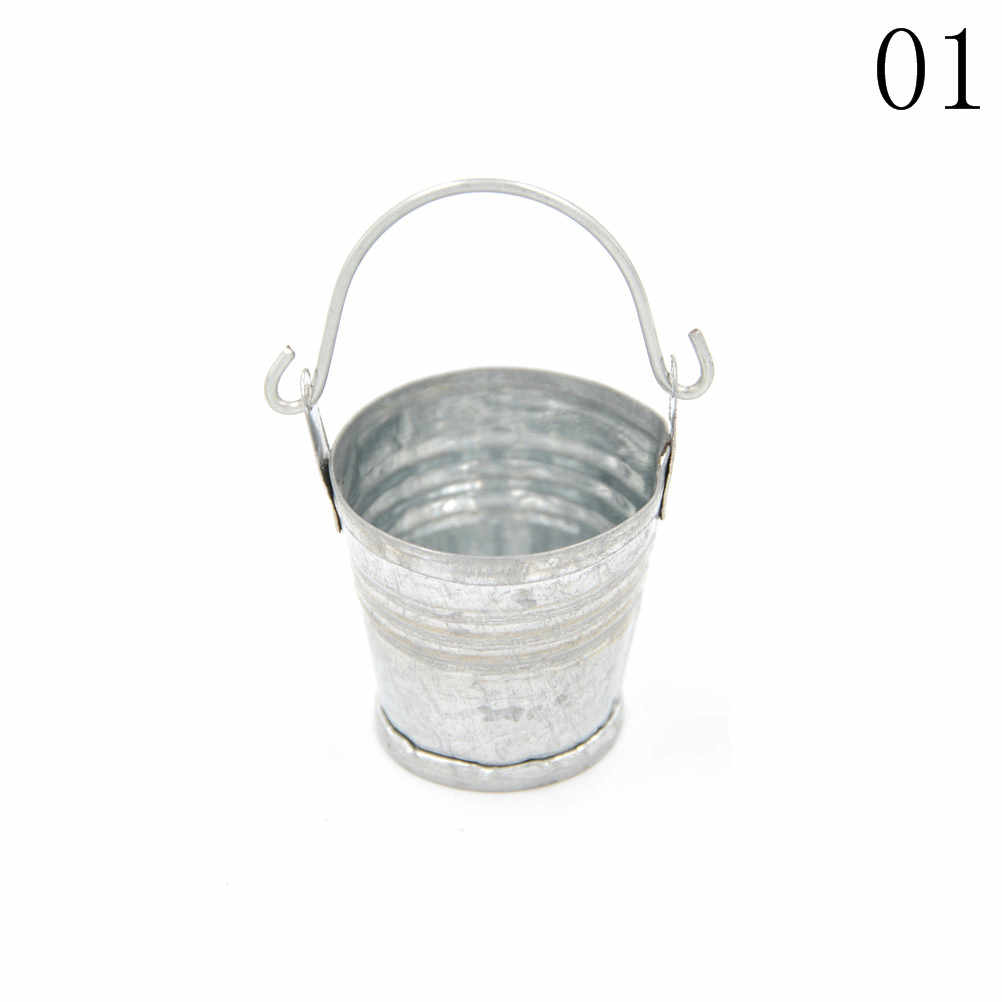 Hot Selling Dollhouse Miniature Ice Cube Bucket 1:12 Scale Fairy Home Kitchen Decor Pretnd Play Game