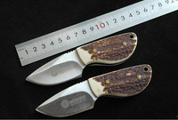 Mini Portable Thumbs Size Knife Fixed Blade Straight Knife Special Tea Knife Household Kitchen Fruit Knives