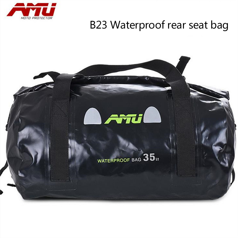 Authentic AMU motorcycle rear seat bag riding side package side package camel bag riding off-road package сосо amu 500