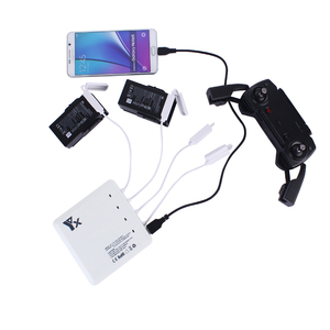 Image 2 - 6 in 1 Drone Battery remote control charger Intelligent Charging  with USB Port For DJI Mavic air Accessories