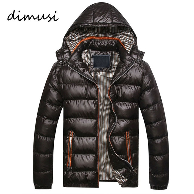 2016 New Arrival Men Winter Jacket Fashion Hooded Thermal Down Cotton Parkas Male Casual Hoodies Brand Clothing Warm Coat PA064