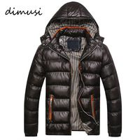 2016 New Arrival Men Winter Jacket Fashion Hooded Thermal Down Cotton Parkas Male Casual Hoodies Brand