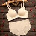 Горячая 2016 Бренд Нижнего Белья В. С. Секрет Женщины Бюстгальтера Женщины Сексуальное бесшовные Бюстгальтер И Трусики Установить Плюс Размер Мода Push-Up Bra белье