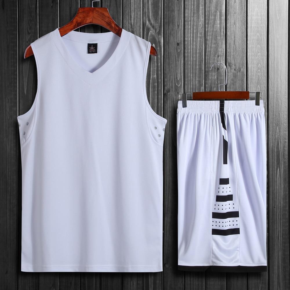 official photos bfd99 165f7 Men Basketball Jerseys Sets Team Uniforms Sports Kit Clothes Retro  Basketball Jersey Shirts Shorts Custom Number Name Logo Print